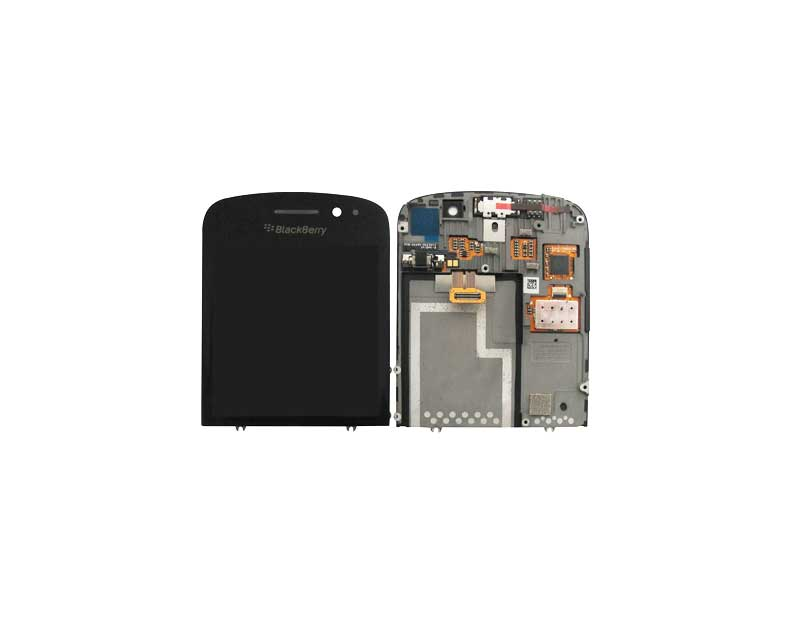 Blackberry Q10 LCD and Digitizer with Frame Black