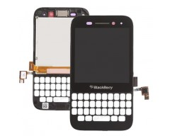 Blackberry Q5 LCD with Digitizer Black