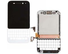 Blackberry Q5 LCD with Digitizer White