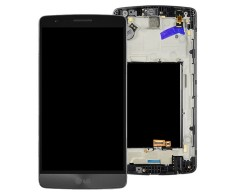 LG G3S LCD and Digitizer with Frame Black