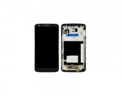 LG G2 LCD and Digitizer with Frame Black