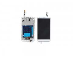 LG G2 LCD and Digitizer with Frame White